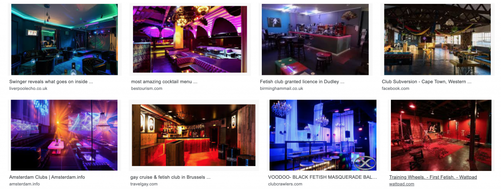 All Fetish Clubs Interiors